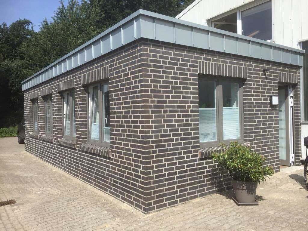 Der neue Büroanbau